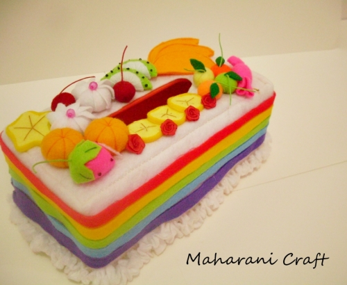 Cover Tissue Rainbow PALING LAKU